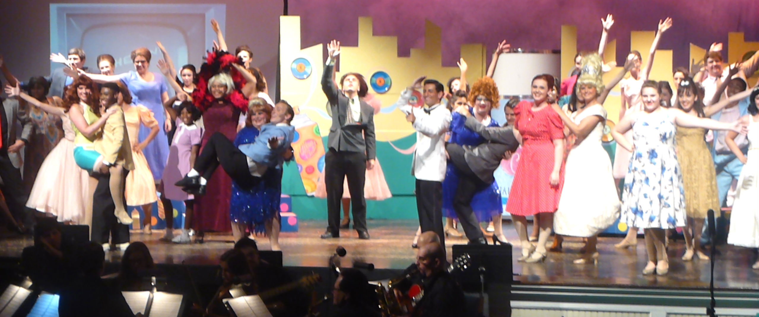 Just off broadway production of hairspray wows crowd news tapinto - Alternative uses of hairspray ...