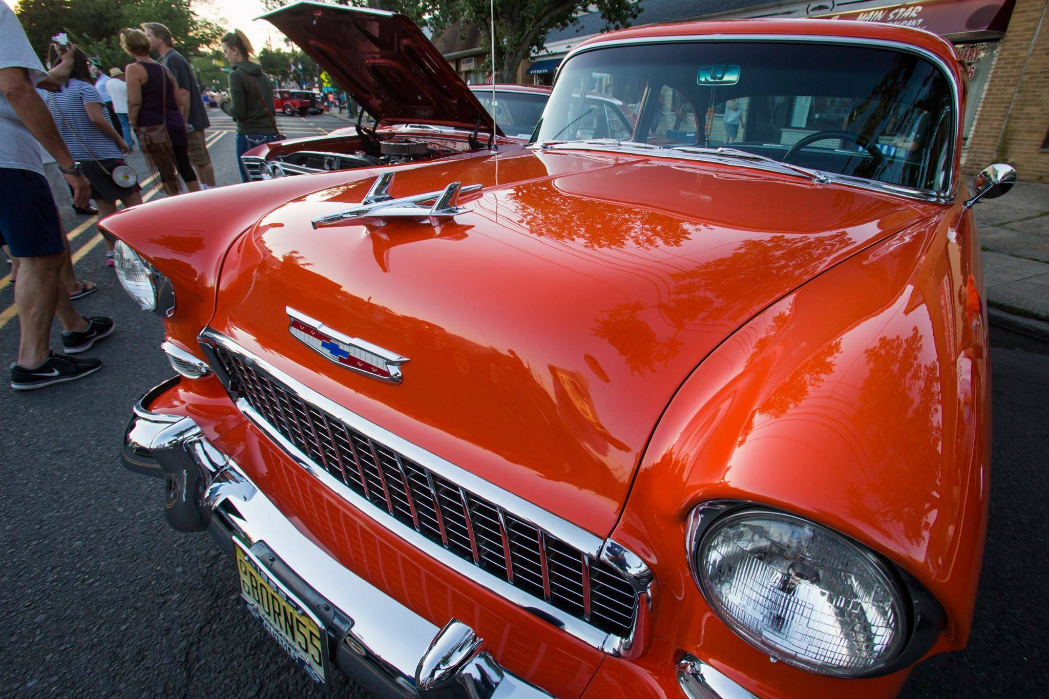 Scenes From The Scotch Plains Cruising On Park Avenue Car Show