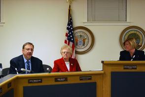 Councilman Kranz and Councilwoman Mitchell