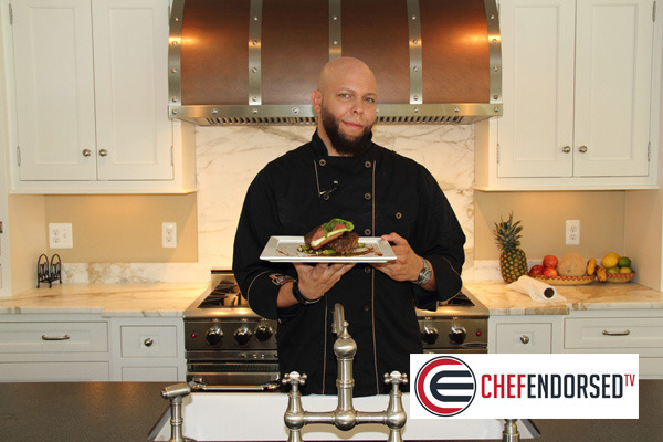 chefendorsed tv records cooking show in madison nj kitchen featuring celebrity chef darryl. Black Bedroom Furniture Sets. Home Design Ideas