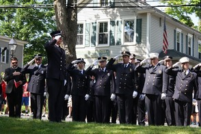 Memorial Day Parade Invokes Memories of Those Who Served, Makes New Memories in Basking Ridge, photo 5
