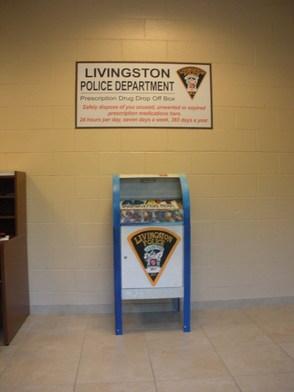 Livingston Police Department Unveils Prescription Drug Drop Off Box, photo 7