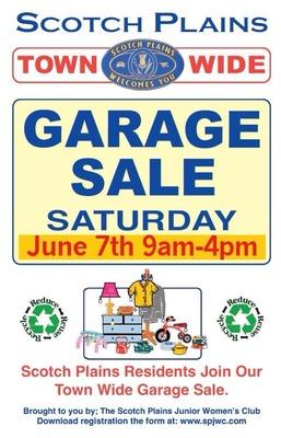 Scotch Plains Town-wide Garage Sale Today, photo 1