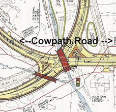 Cowpath, West Broad, Godshall Intersection Closing Monday for 5-Month Realignment Project, photo 1