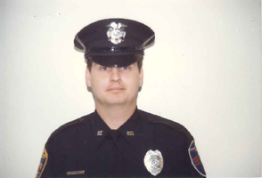 Newly appointed Sparta Township Patrol Officer Jeffrey R. Nafis February 18, 1986