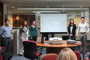 Seton Hall Marketing Students Present Ideas for Irvington Avenue Redevelopment, photo 5