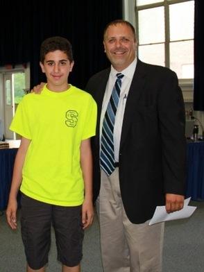 Buddy Al-Aydi and Brad Davis