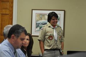 Boy Scout Jack Filipkowski