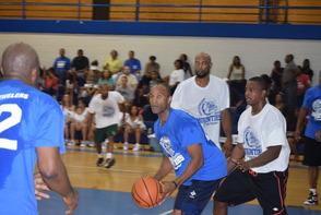Alumni Basketball game at MHS