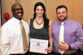 Sarah Cronin honored at FSPY banquet