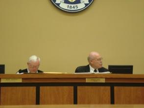 Councilman Murphy and Mayor Gibbs