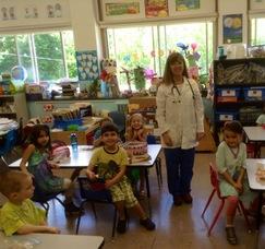 School Nurse Leslie Huhn