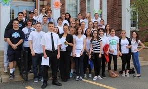Sparta High School Students Successfully Support Math Teacher