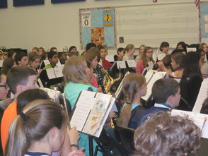 Randolph Middle School Sixth-Grade Band to be on NJ Network 'Classroom Close-up' in March, photo 5