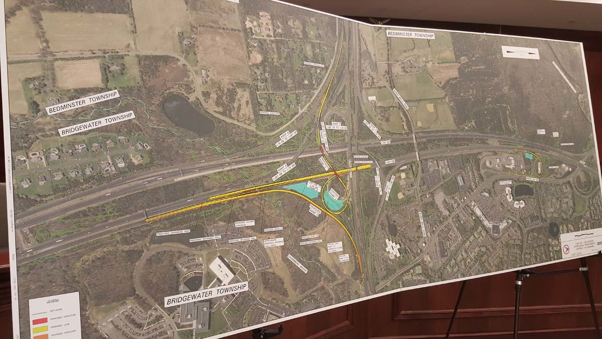 NJDOT to Construct New Ramp From 78 East to 287 North - Warren NJ ...