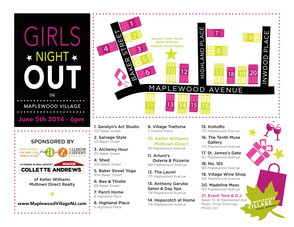 Girls Night Out Map