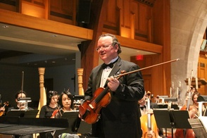Violinist Brennan Sweet