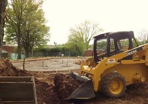 Spray Pad Construction