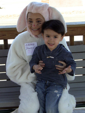 Easter Bunny Visits Scotch Plains
