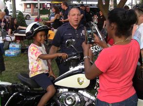 Future motorcycle cop