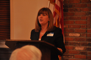 Leslie Huhn endorse Barbara Buono for Governor.
