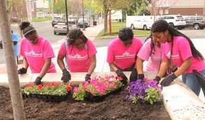 Roselle Comes Together for Community Clean Up Day, photo 9