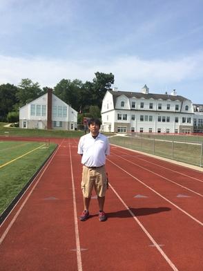 Daisuke Sato, Athletic Trainer for Morristown Beard