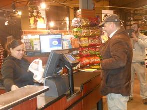 First Customer