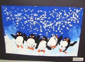 Penguin Potato Art