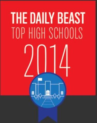 LHS Ranked as a 2014 Top High School by The Daily Beast ... Daily Beast