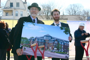 Ground Breaking Ceremony Held at Third and Valley in South Orange, photo 2