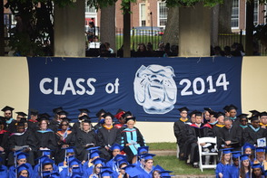 CBS News Anchor Jim Axelrod Takes Selfie During Commencement Address to 522 Montclair H.S. Graduates, photo 11