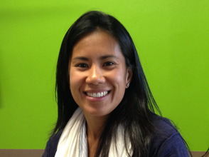 Candice Davenport co-founder of the Gratitude Graffiti Project
