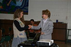 Deanna Passaretti Recognized for Gold Award by Montville BOE