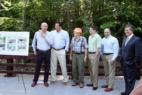 Millburn's Glen Avenue Bridge Reopened with Ceremony, photo 2