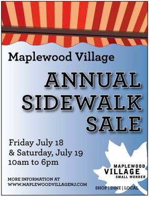 Maplewood Village Sidewalk Sale This Friday and Saturday, photo 1