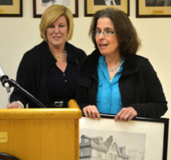 Fanwood Mayor Colleen Mahr honors Margaret Lewis with 'Volunteer of the Month'