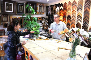Frames and Framers Holds Downtown Grand Opening, photo 3