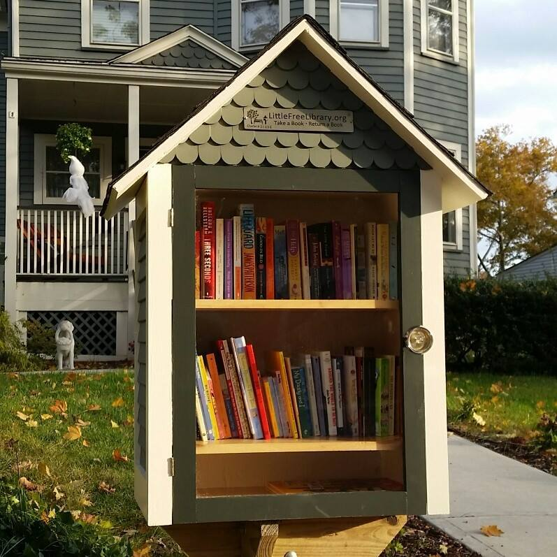 Westfield Family Opens Little Free Library At Home On East Broad Street NJ News