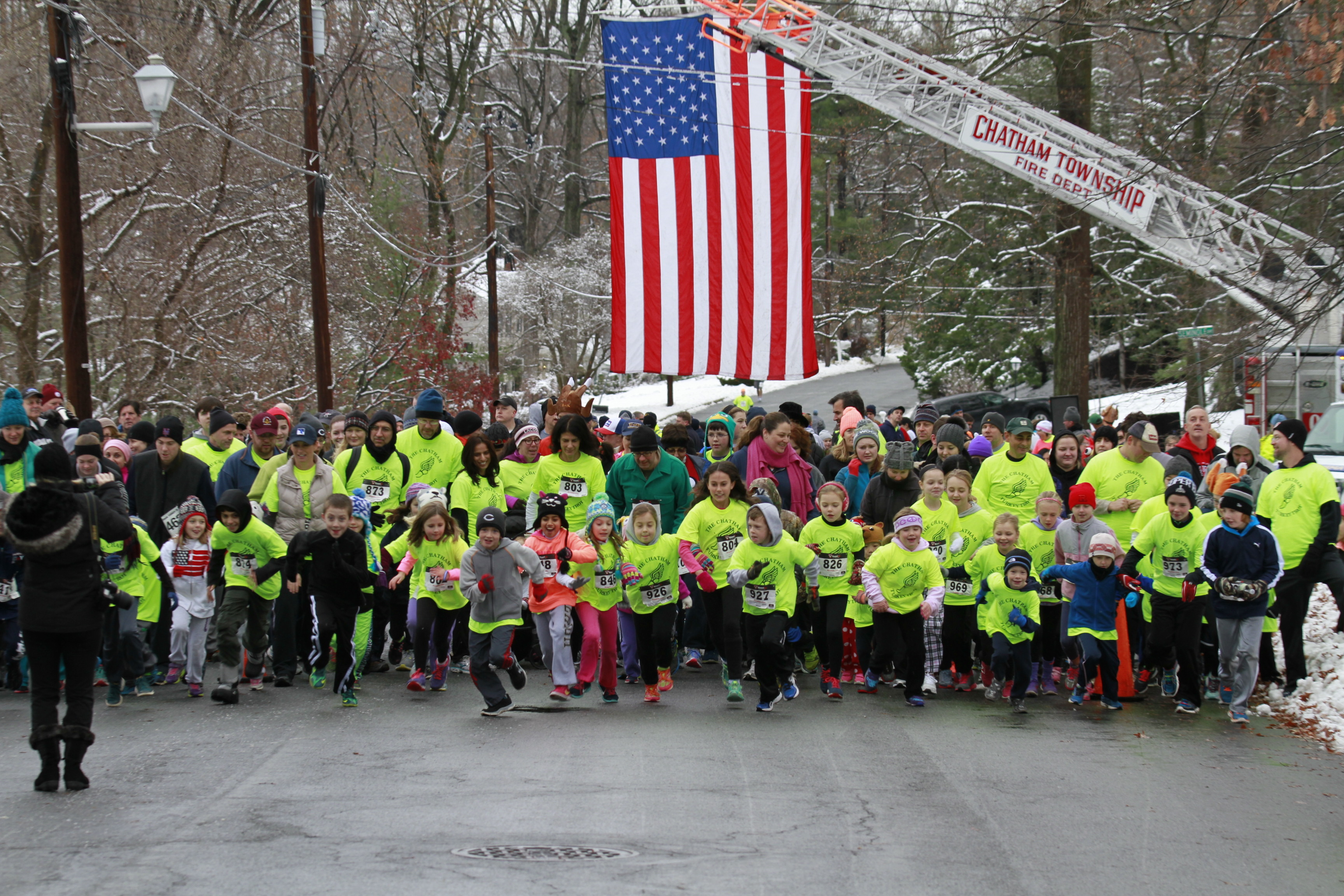 Chatham's 6th Annual Turkey Trot Raises $19,000 for Fire Dept., Diabetes