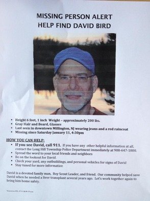 Missing Persons: Local Man David Bird Missing Since Jan.11, photo 2