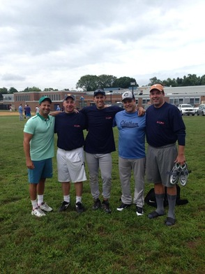 Friends Support the First Annual Joe Valentine Memorial Softball Tournament