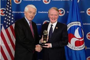 Lance Awarded Freedom of Enterprise Award , photo 1