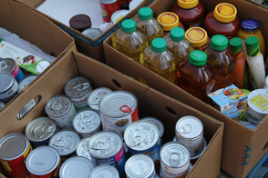 Donations from the Curbing Hunger drive will be delivered to local pantries just in time for summer.