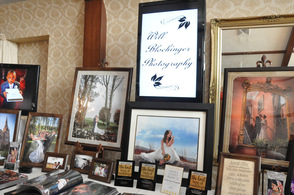 Will Blochinger Photography's photos on display.