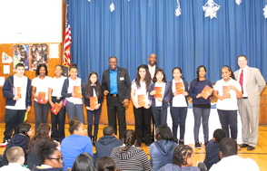 The Power To Excel: Reaching for Your Best - Roselle Students Honored, photo 2
