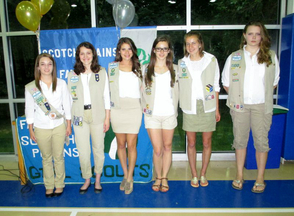 Fanwood-Scotch Plains Girl Scouts Recognize 2014 Award Recipients