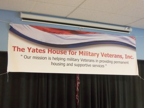 The Yates House for Military Veterans Inc Banner