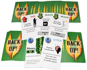 South Orange Resident Invents Card Game For People with Back Pain, photo 2