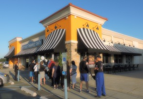 South Plainfield Residents Flock to the Corner Bakery Café , photo 4